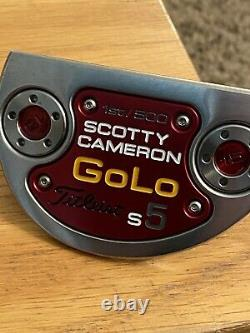 Scotty cameron GoLo S5 putter Limited Edition Centre Mounted Shaft 1st Of 500