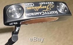 Super Rare 33 Scotty Cameron Newport 33 T22 Teryllium Limited Release