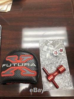 Titleist RH Scotty Cameron Futura X5 35 Putter + Headcover, Weight Tool, 10g