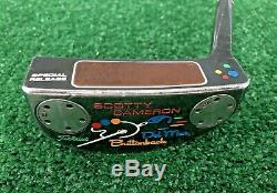 Titleist SCOTTY CAMERON Del Mar Buttonback SPECIAL RELEASE 35 Inch Putter + HC