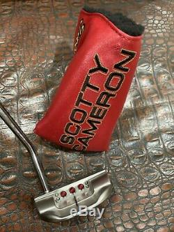 Titleist Scotty Cameron 2018 Select Fastback RH 34 Limited 500 MINT
