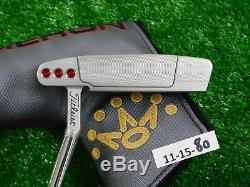 Titleist Scotty Cameron 2018 Select Laguna 35 Putter with Headcover New