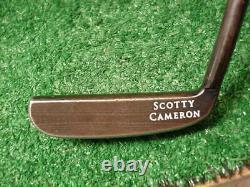 Titleist Scotty Cameron Black Napa Blade Putter 35 Inch