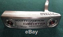 Titleist Scotty Cameron California Monterey 1.5 RH Putter 35 with 10g Weights