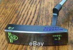 Titleist Scotty Cameron Circa 62 #3 Custom Shop Putter 35 Inch Golf Club JYD