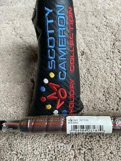 Titleist Scotty Cameron Del Mar 3.5 Holiday 2006 Putter Limited 1 of 500