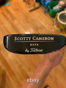 Titleist Scotty Cameron Napa 1ST RUN /500 35 Putter Golf