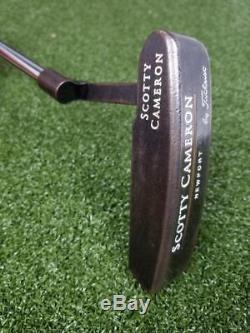 Titleist Scotty Cameron Newport Gun Blue 34.5 Putter Super Stroke 1.3 Golf Club