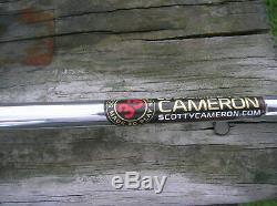 Titleist Scotty Cameron Select Newport 2 33 Putter All Original Excellent Cond