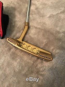 Titleist Scotty Cameron Select Newport 2 34 Putter. Custom Titanium Nitride