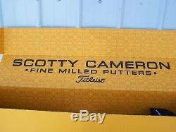 Titleist Scotty Cameron The Art of Putting Oil Can Newport 2 36 Milled Putter