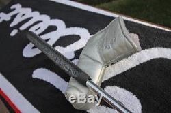 Tour Black Scotty Cameron Fastback 1.5 Circle T Weights Blacked Out