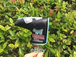 Tour Issue Circle T Scotty Cameron T5MB Putter With Headcover 34.5