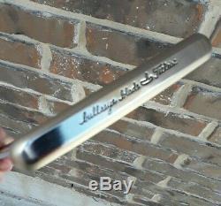 Very Rare Mint Scotty Cameron Titleist Bullseye Pro Platinum 34.5 Blade Putter